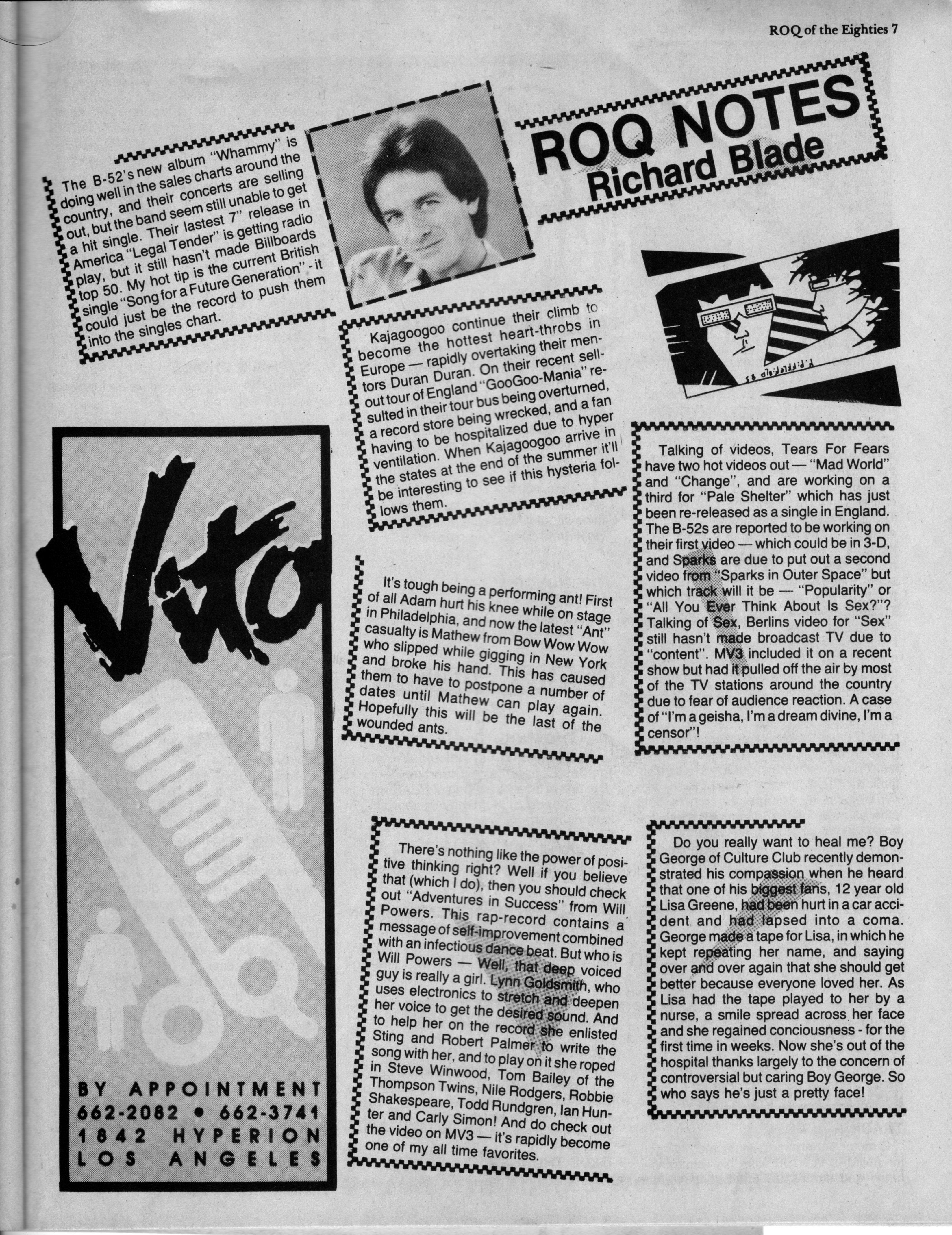80s KROQ DJ Richard Blade