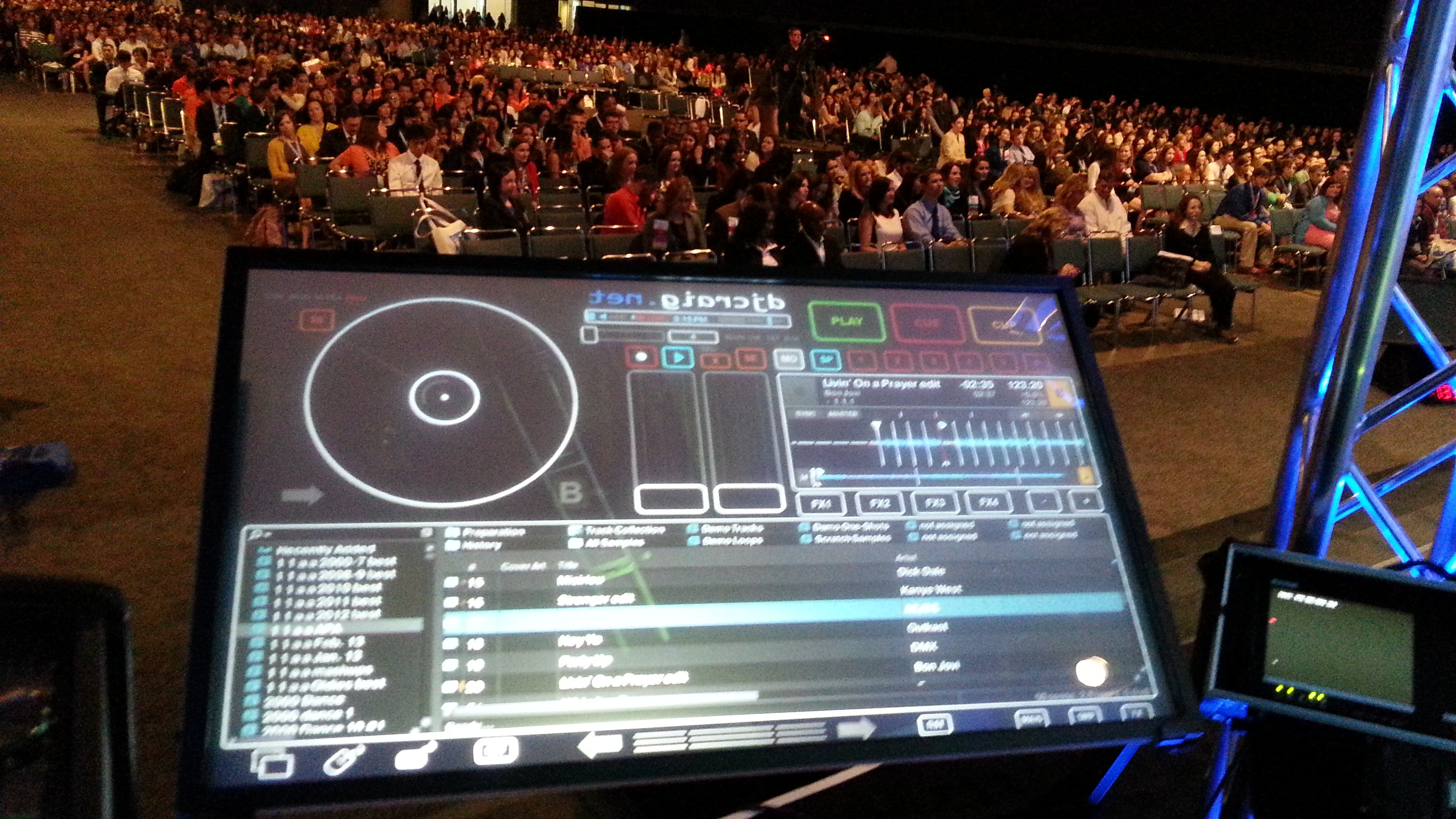 DJ Touch Screen Rental