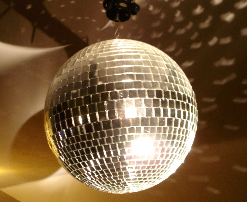 mirror ball rental